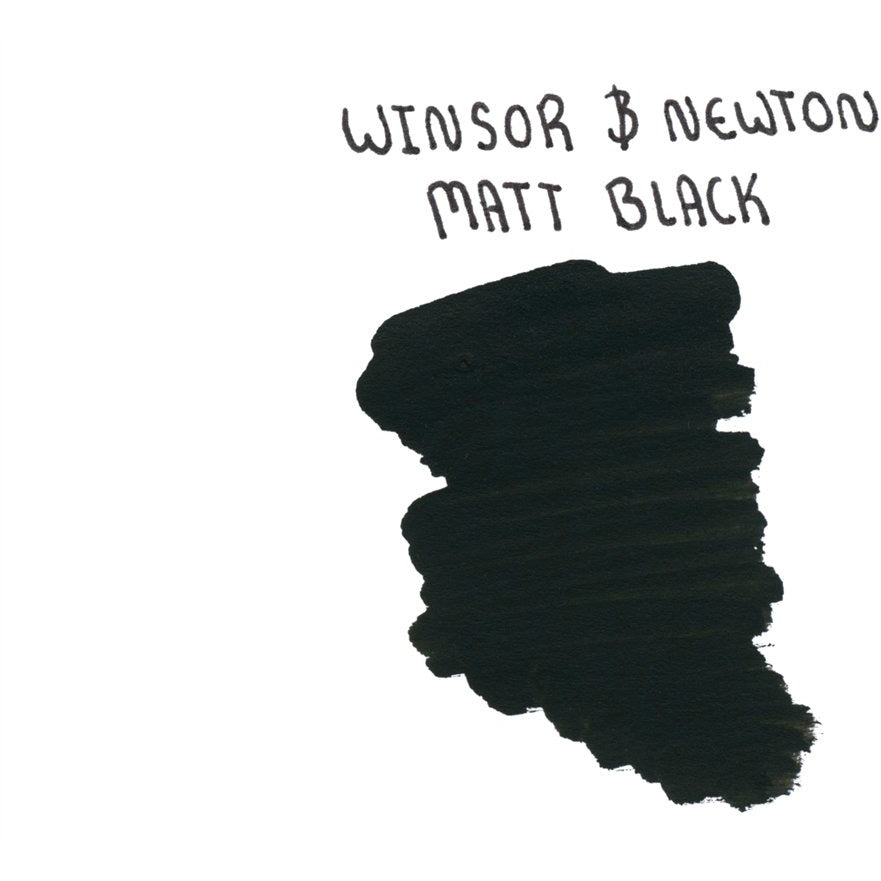 <center>Winsor & Newton Calligraphy Ink (30mL) - Matt Black</center>