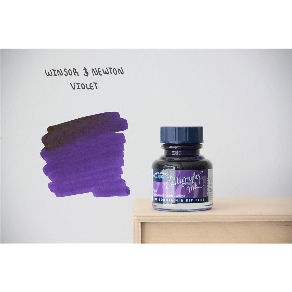 <center>Winsor & Newton Calligraphy Ink (30mL) - Violet</center>