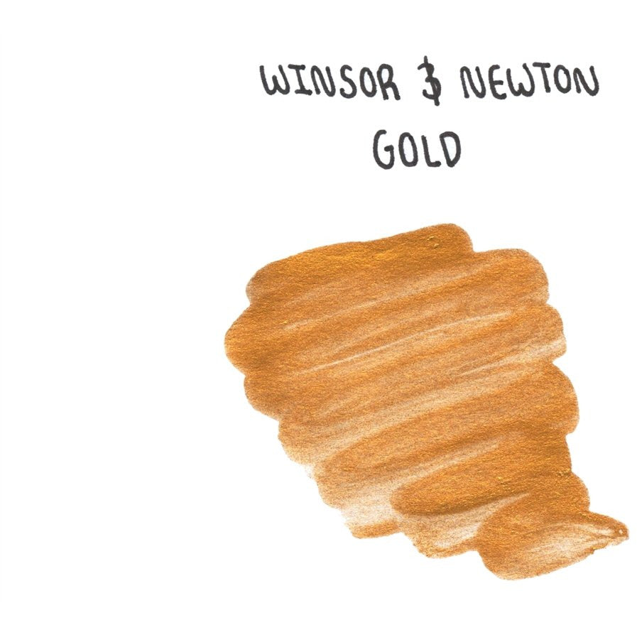 <center>Winsor & Newton Calligraphy Ink (30mL) - Gold</center>