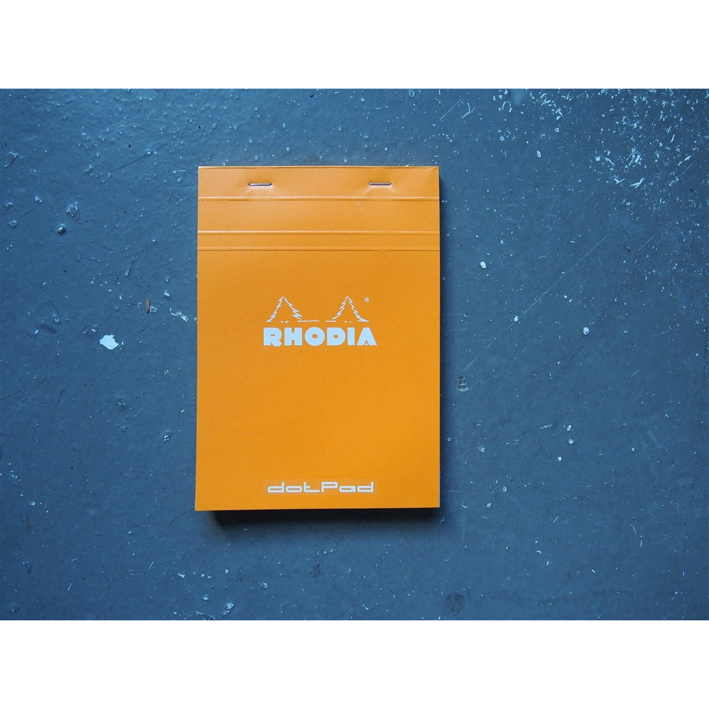 <center>Rhodia Pad No. 16 - Dot - Orange (A5)</center>