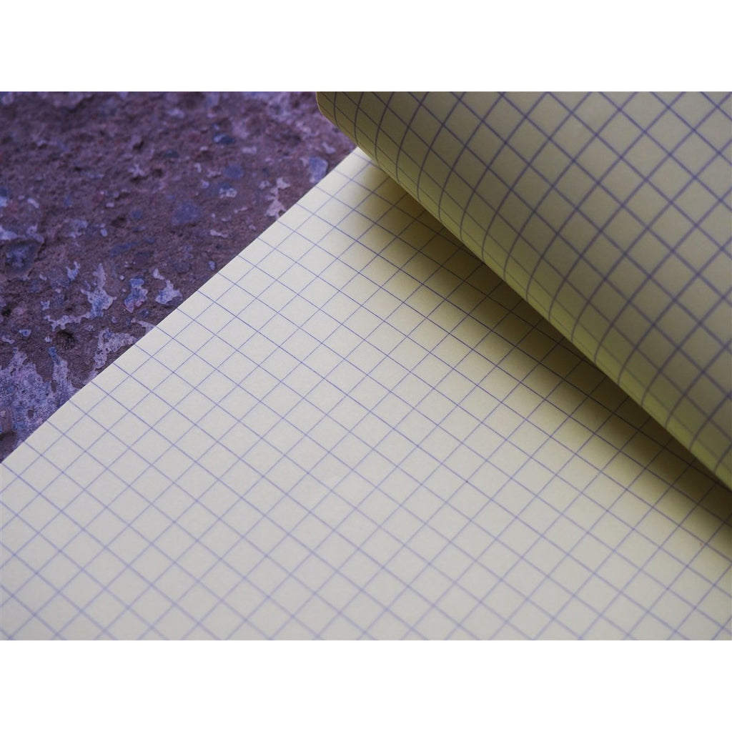 <center>Rhodia Pad No. 16 - Graph Yellow Paper - Orange (A5)</center>