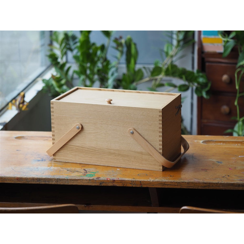 <center>Classiky Chestnut Sewing Box</center>