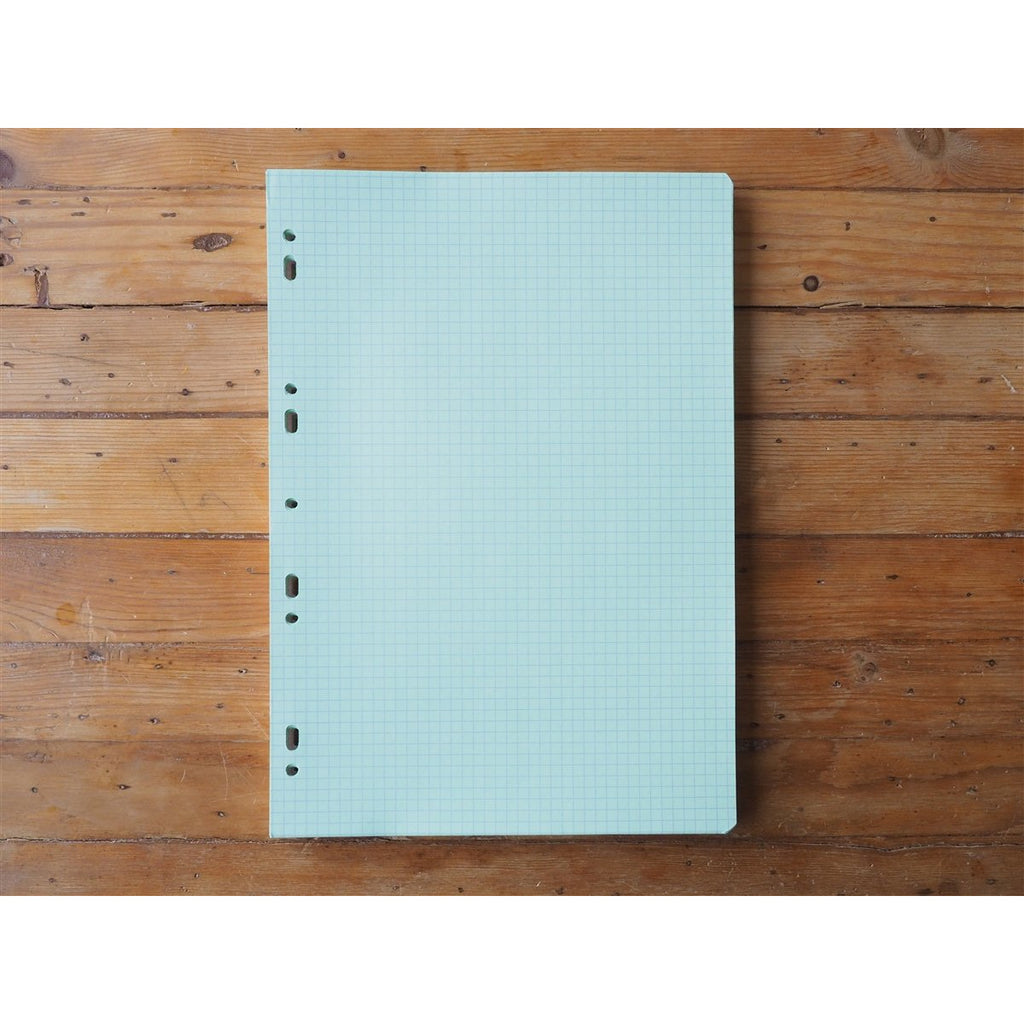 <center>Clairefontaine Loose Leaf - Coloured Grid - A4</center>
