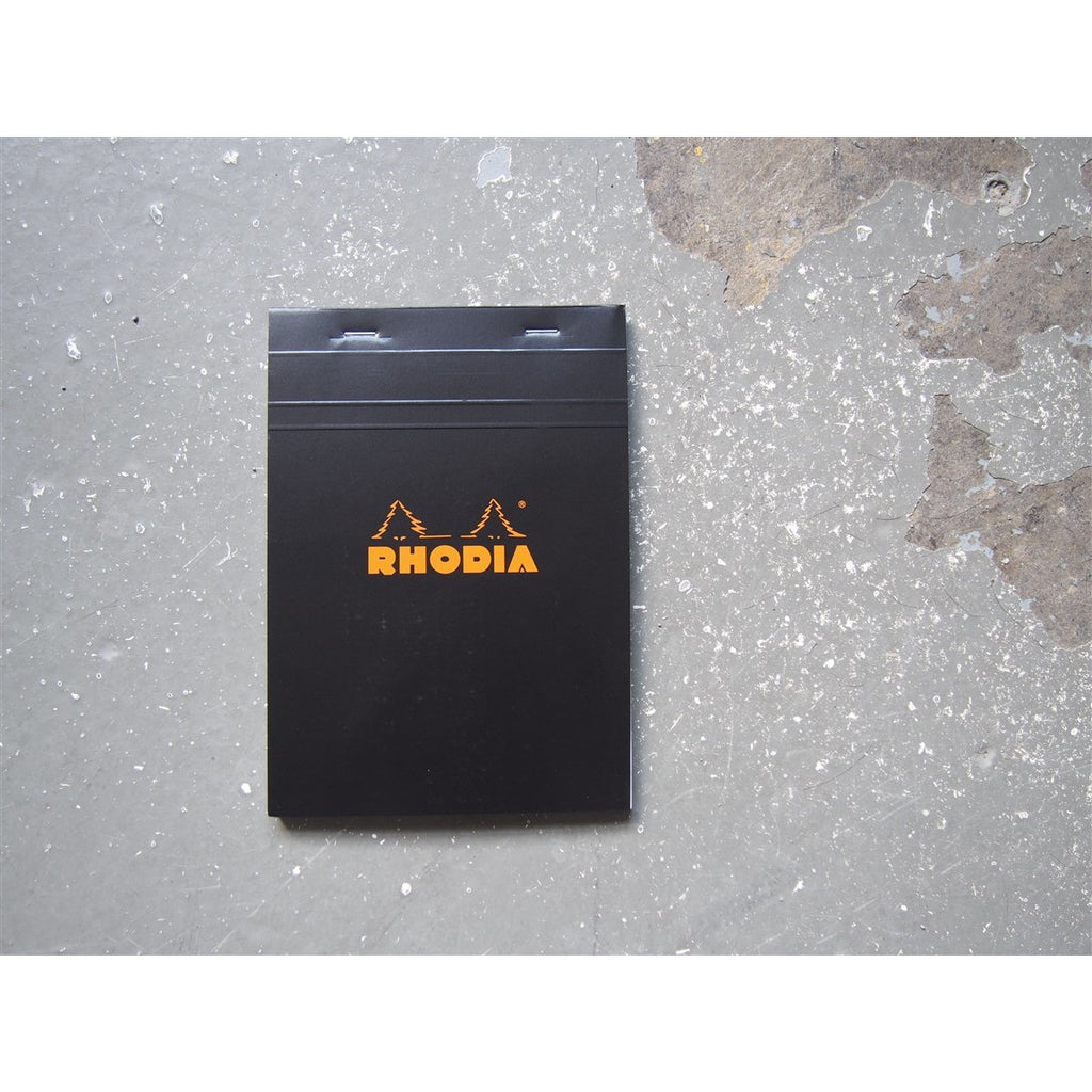 <center>Rhodia Pad No. 16 - Graph - Black (A5)</center>