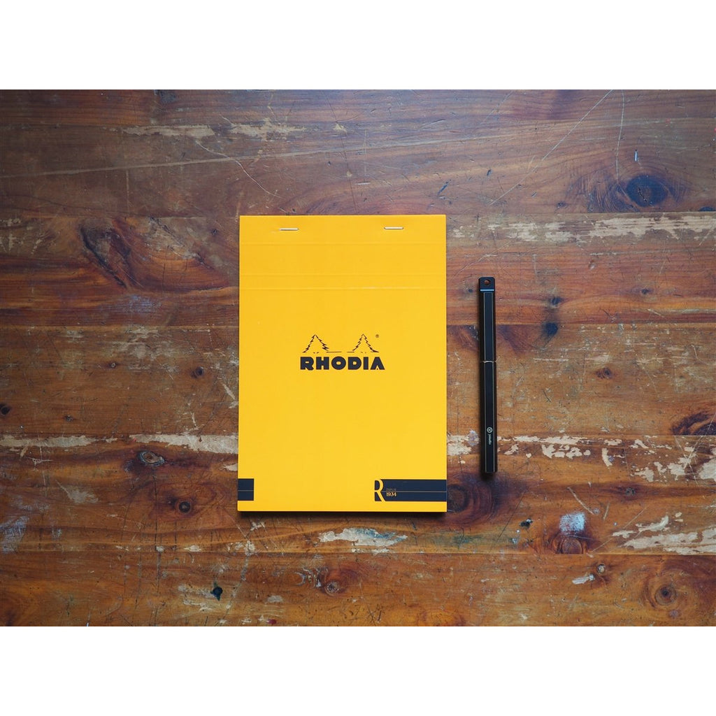 "<center>Rhodia ""R"" Premium Paper Lined Pad - Orange (A5)</center>"