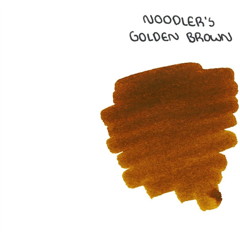 <center>Noodler's Fountain Pen Ink (3oz/90mL) - Golden Brown</center>