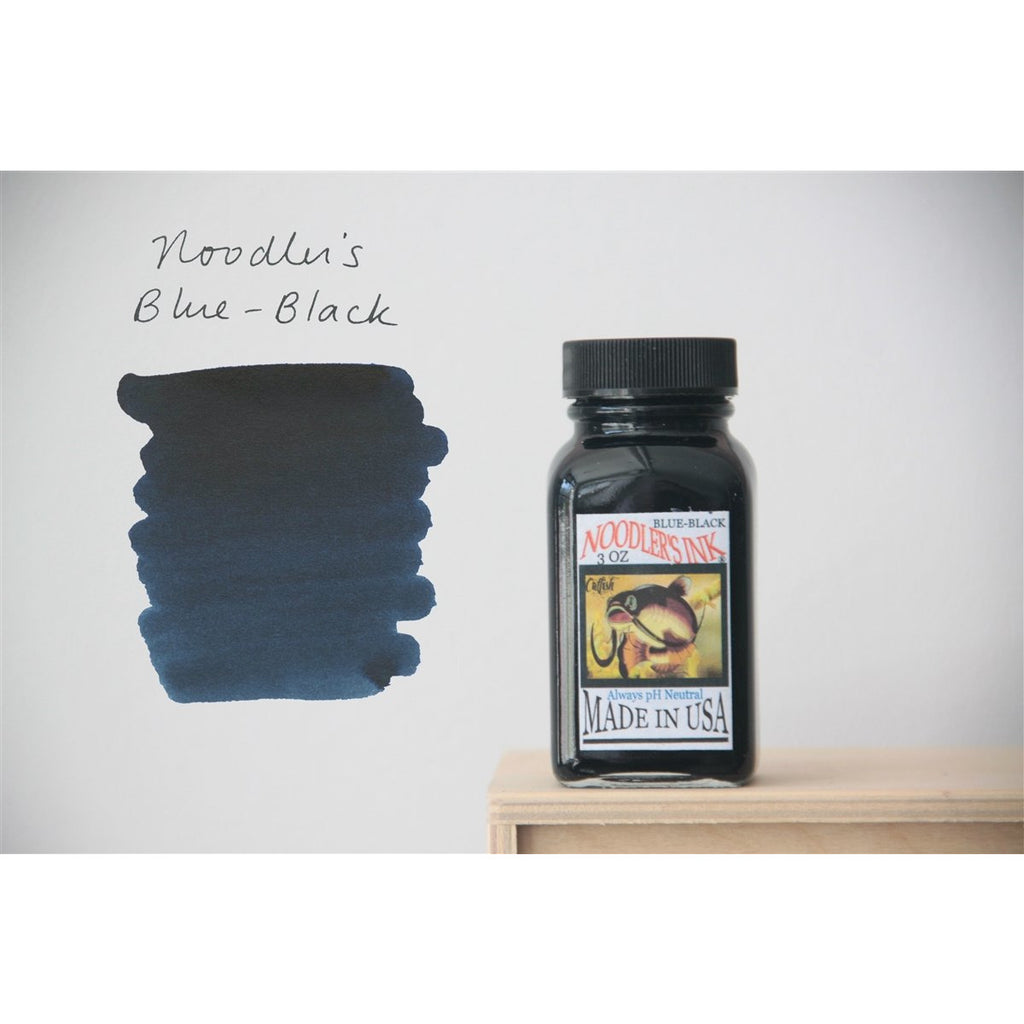 <center>Noodler's Fountain Pen Ink (3oz/90mL) - Blue-Black</center>