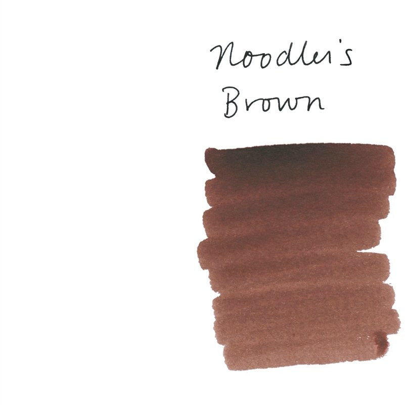 <center>Noodler's Fountain Pen Ink (3oz/90mL) - Brown</center>