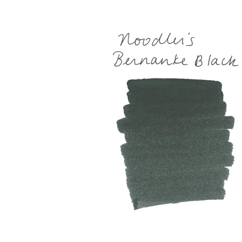 <center>Noodler's Fountain Pen Ink (3oz/90mL) - Bernanke Black</center>