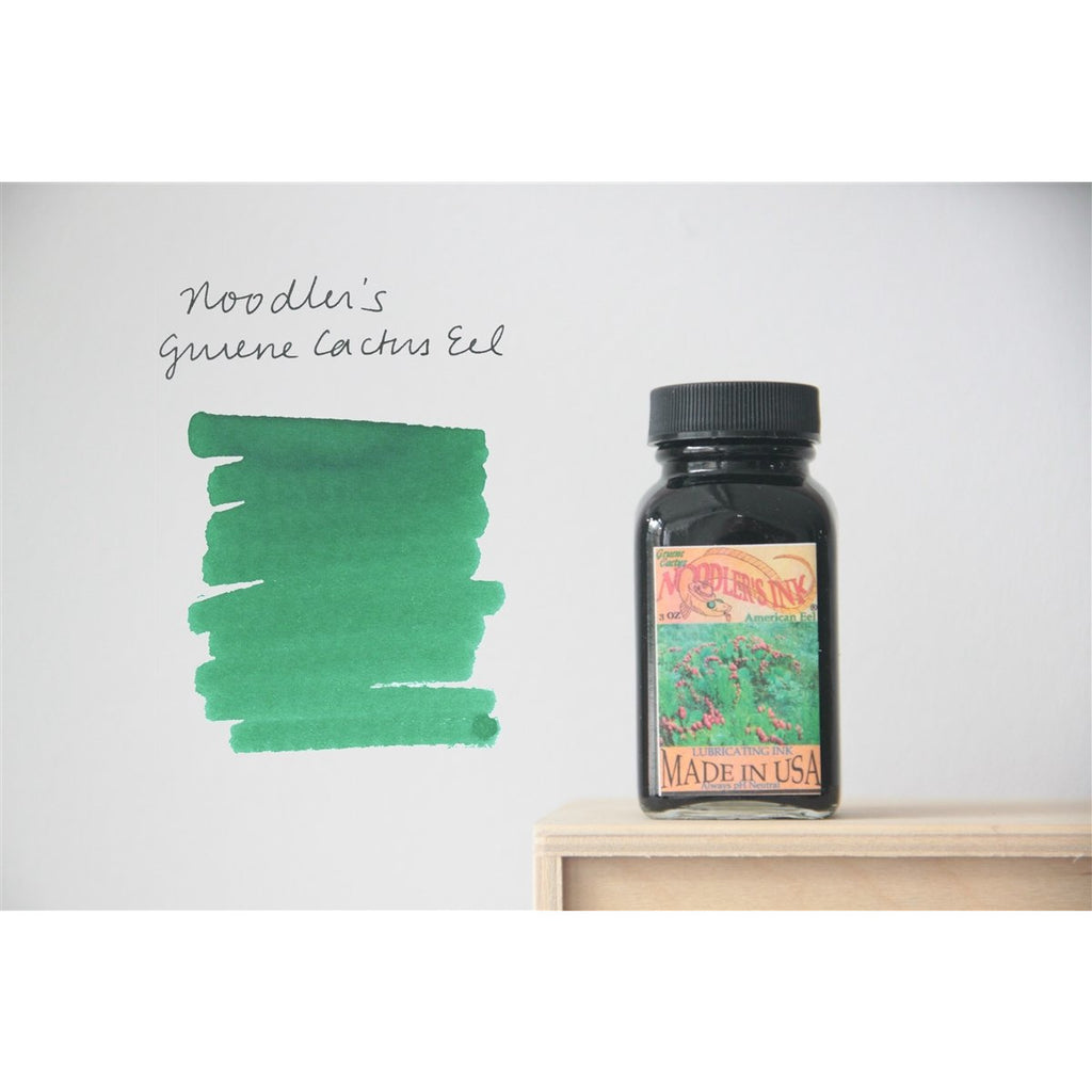 <center>Noodler's Fountain Pen Ink (3oz/90mL) - Eel Gruene Cactus</center>