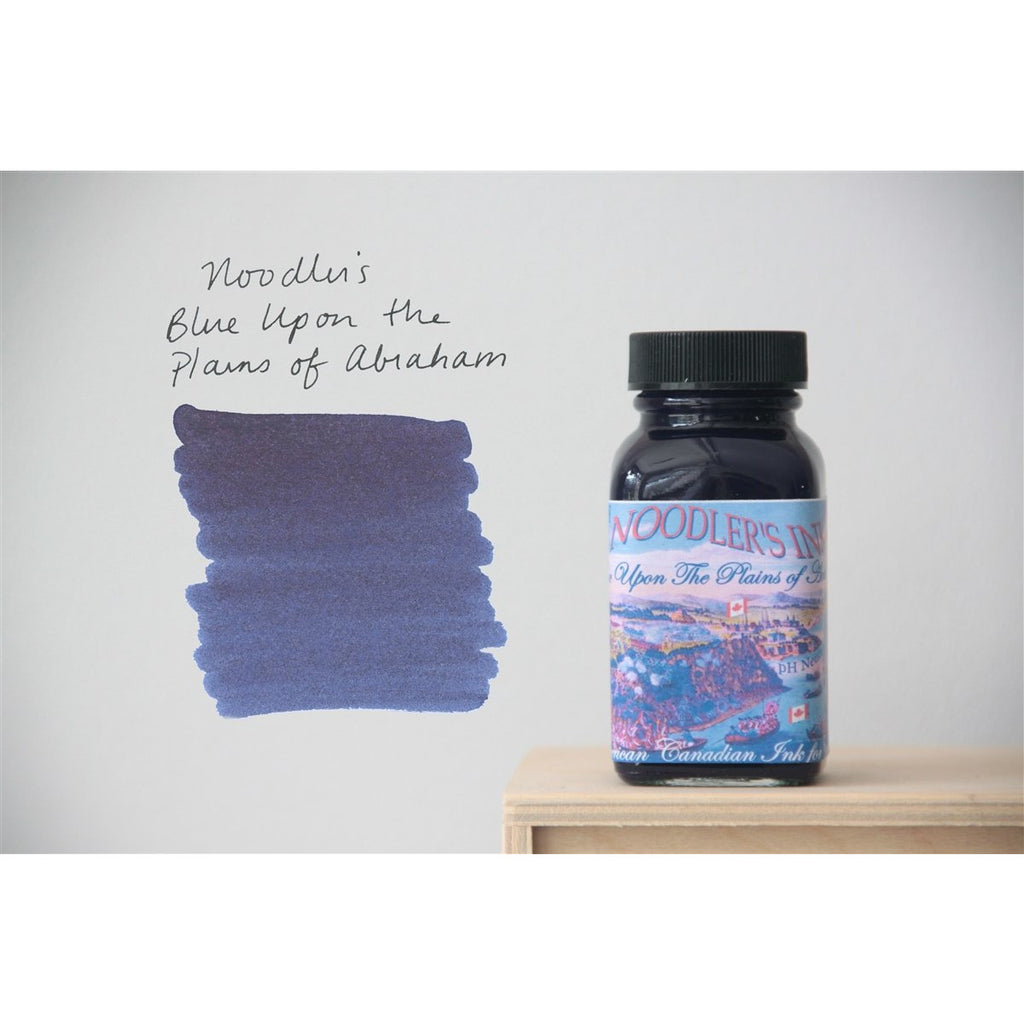 <center>Noodler's Fountain Pen Ink (3oz/90mL) - Blue Upon The Plains of Abraham - Canadian Exclusive</center>