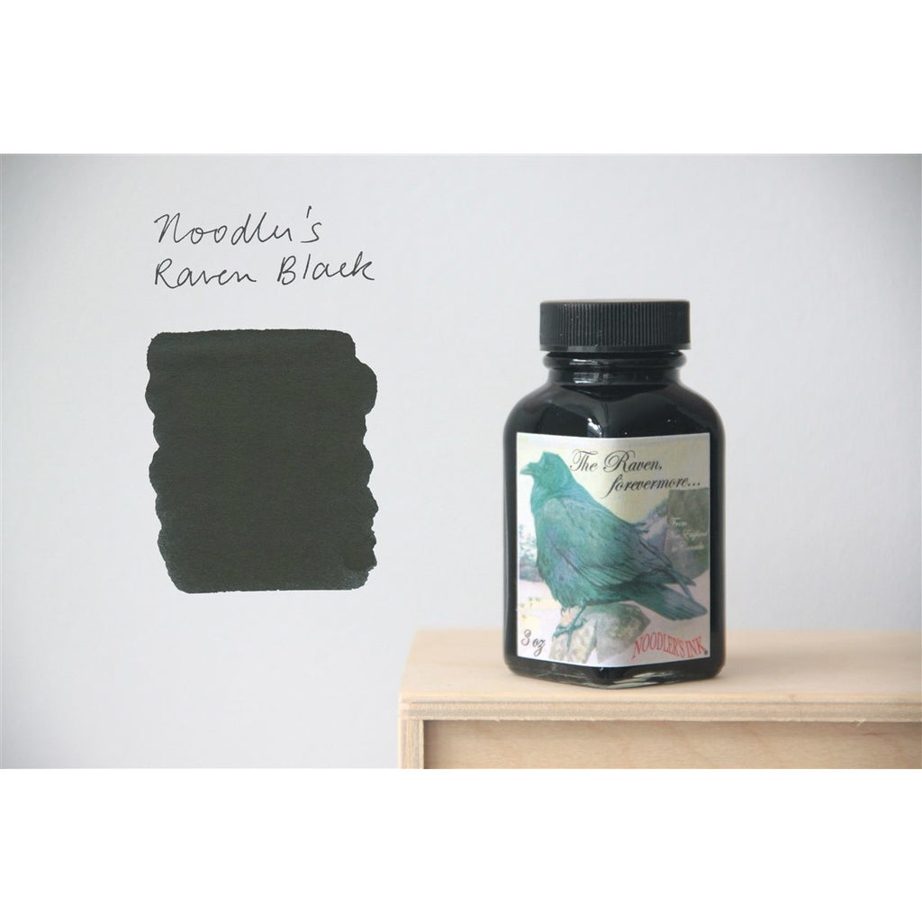 <center>Noodler's Fountain Pen Ink (3oz/90mL) - Raven Black - Canadian Exclusive</center>