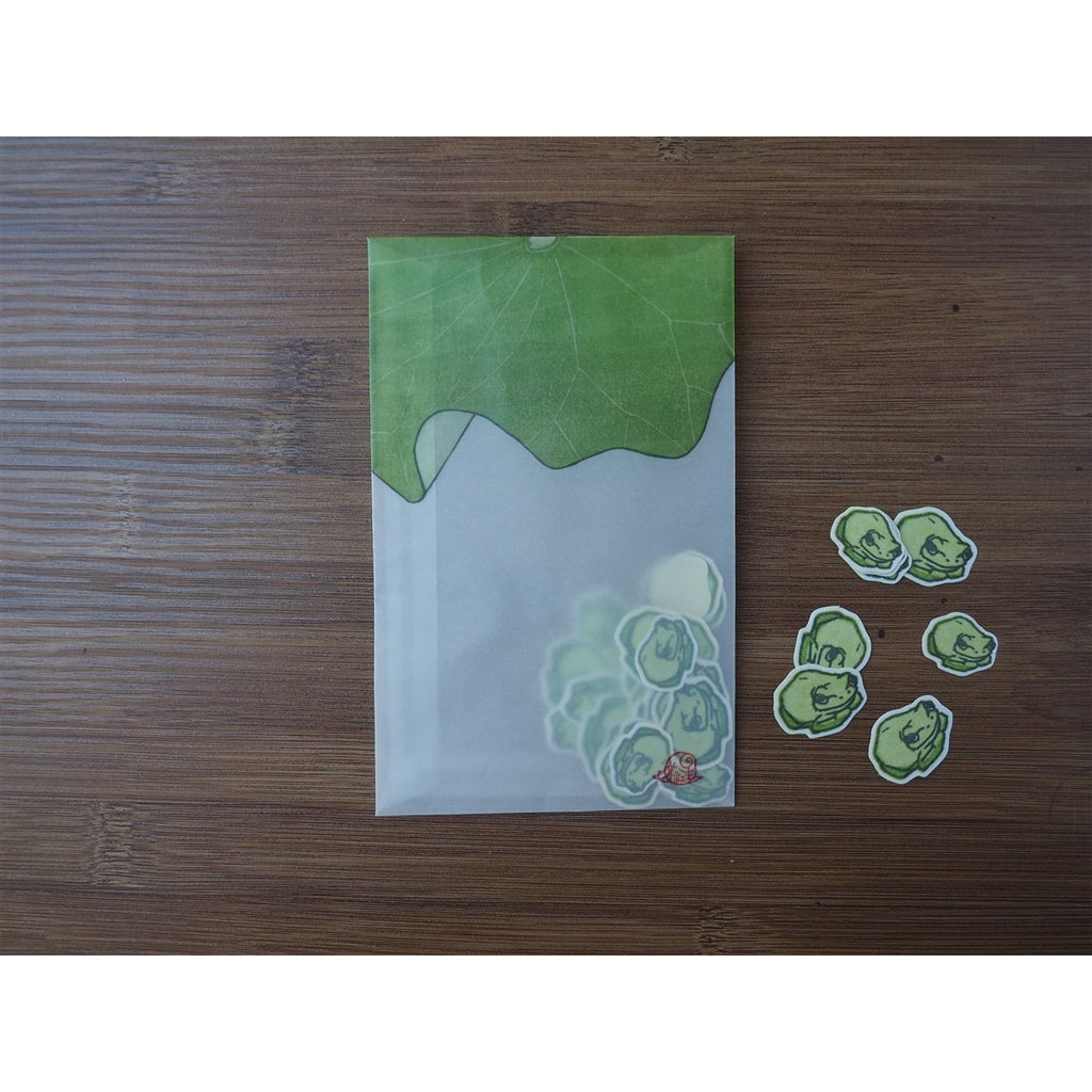 <center>Classiky Ugyokusha Stickers - 24 Pieces - Frog</center>