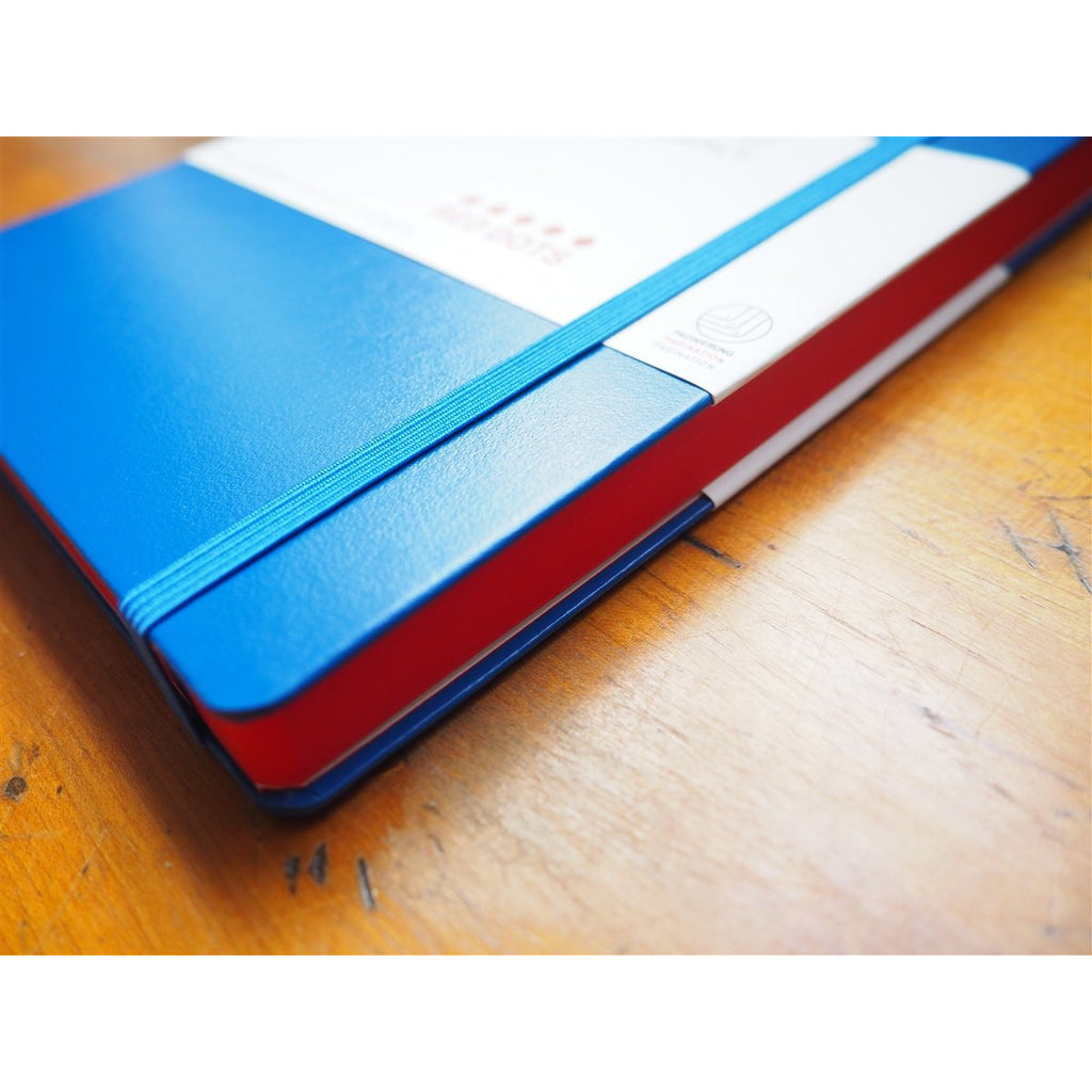 <center>Leuchtturm Hardcover A5 Notebook - Special Edition - Royal Blue (Red Dot)</center>
