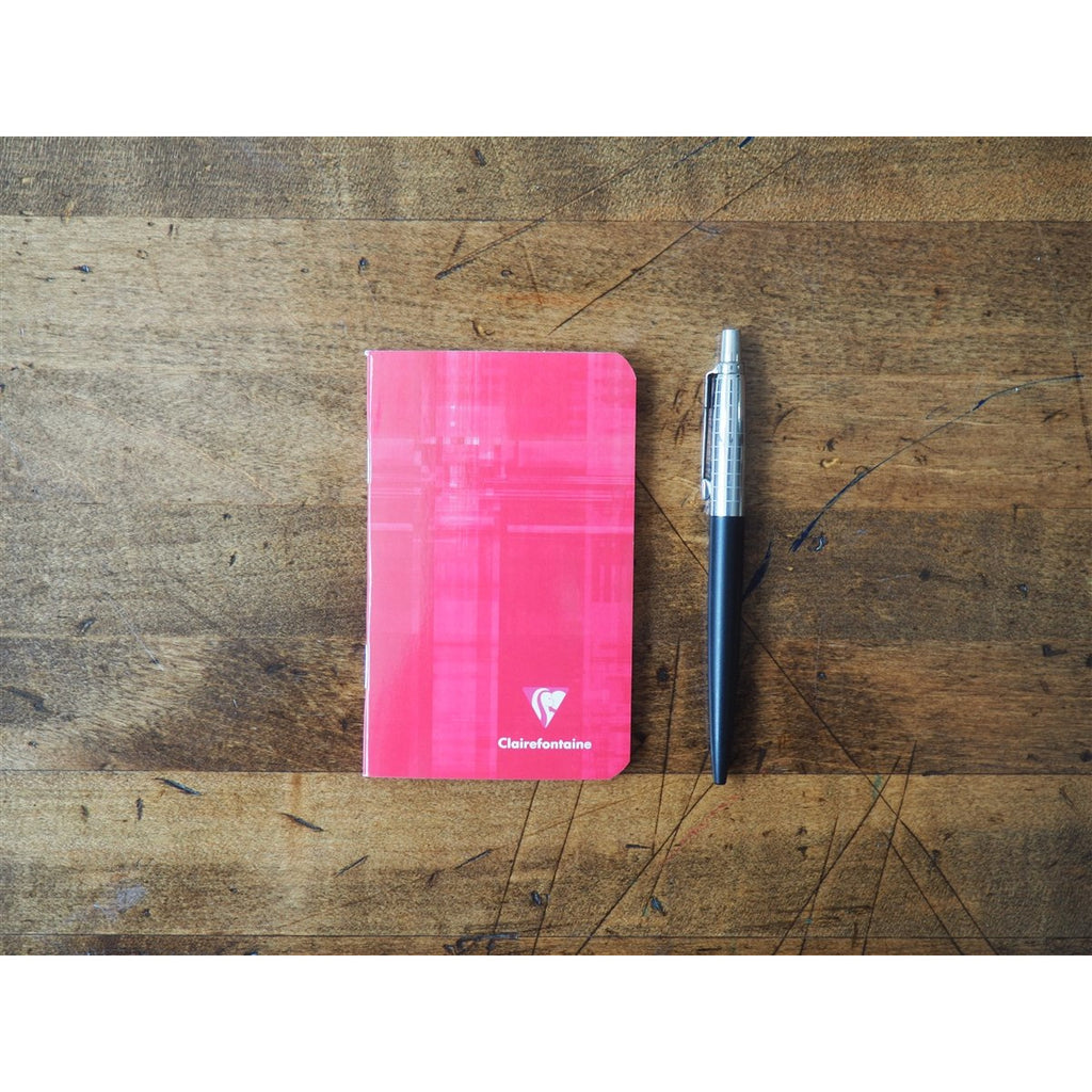<center>Clairefontaine Mini Staplebound Notebook (7.5 x 12cm) - Lined<center>