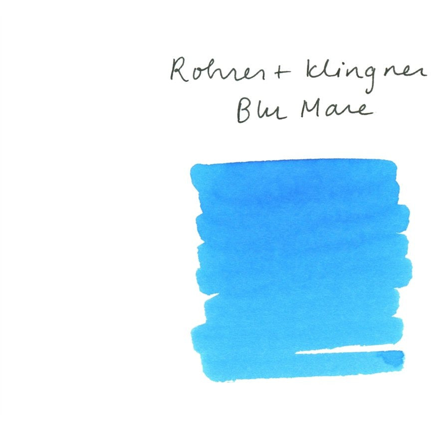 <center>Rohrer & Klingner Fountain Pen Ink (50mL) - Blu Mare</center>