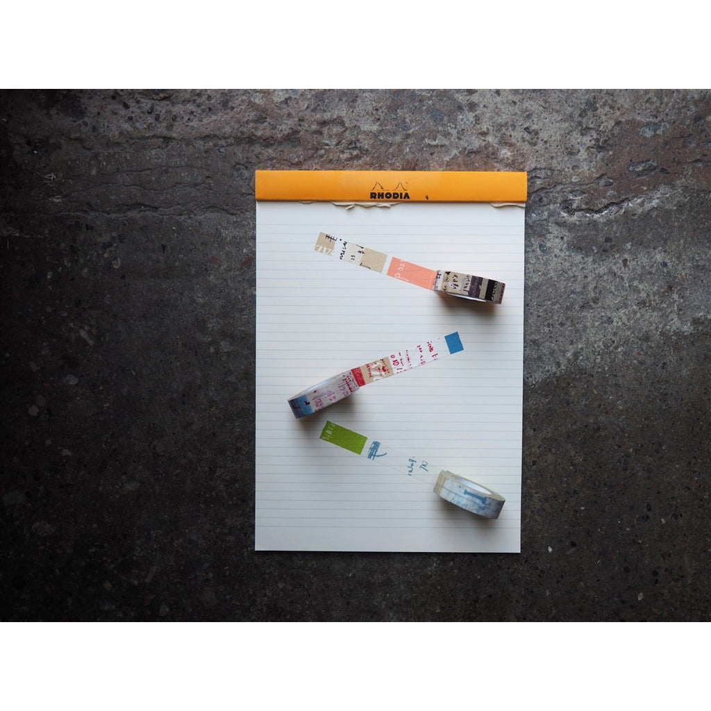<center>Classiky Washi Tape - Graffiti (Pack of 3)</center>