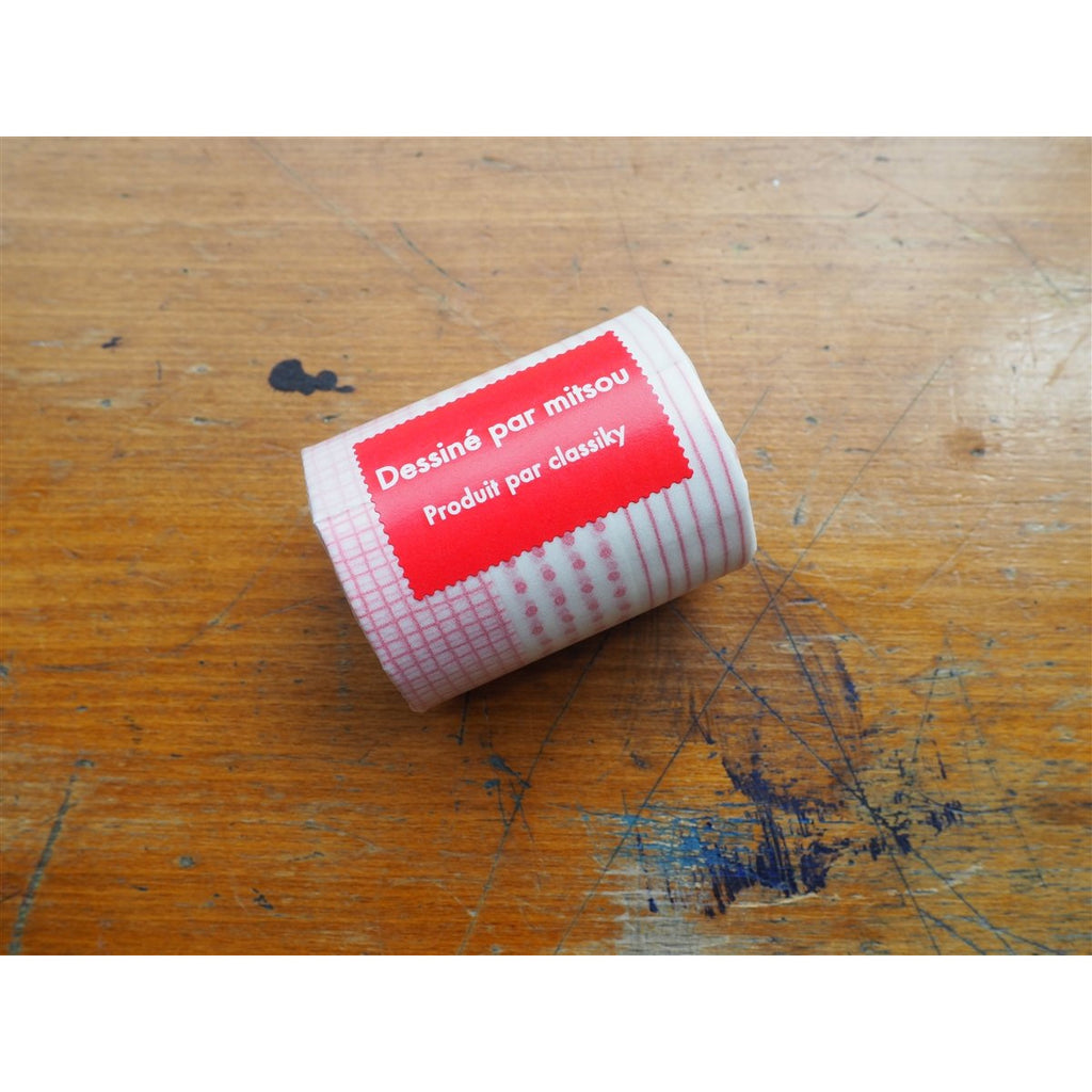 <center>Classiky x Mitsou Washi Tape - Red (Set of 3)</center>