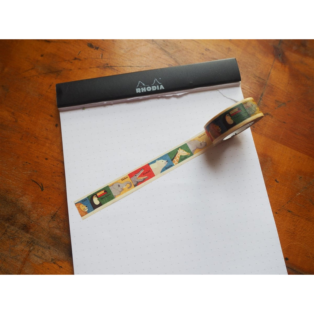 <center>MT Washi Tape - Animals (MT01KID010)</center>