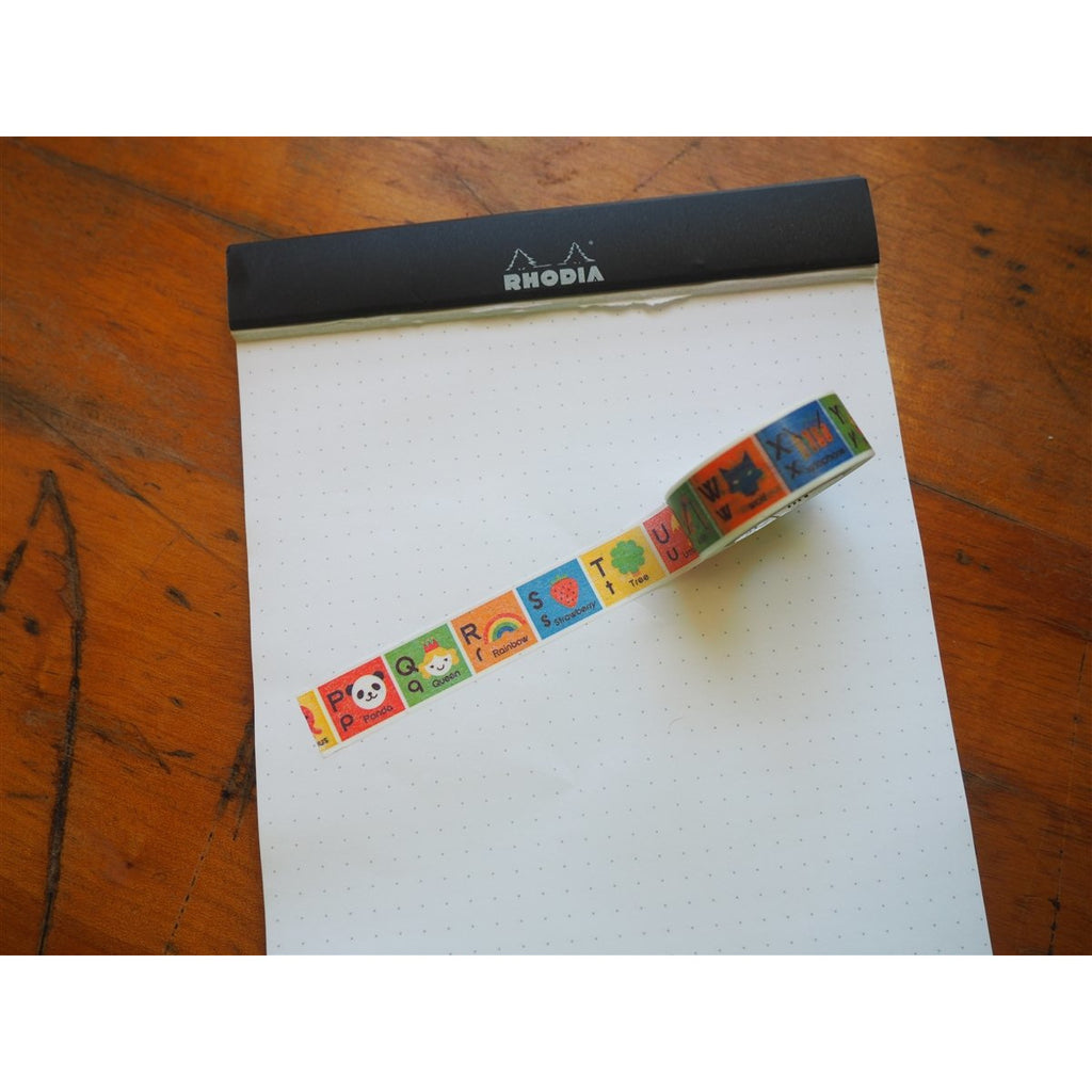 <center>MT Washi Tape - Animal Alpha2 (MT01KID014)</center>