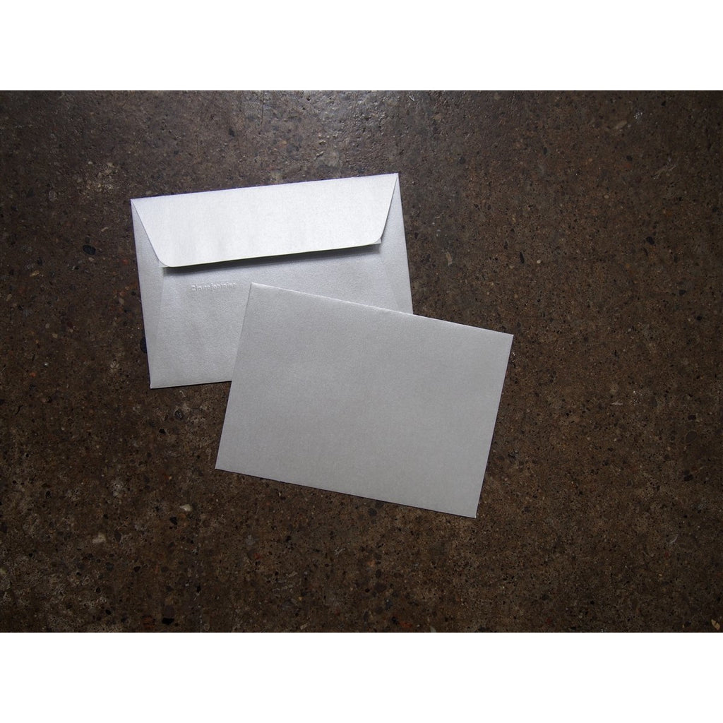 <center>Clairefontaine Pollen Envelopes - A5 - Silver</center>