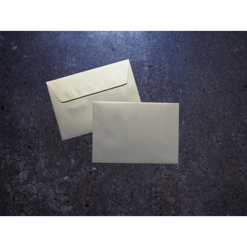 <center>Clairefontaine Pollen Envelopes - A5 - Gold</center>