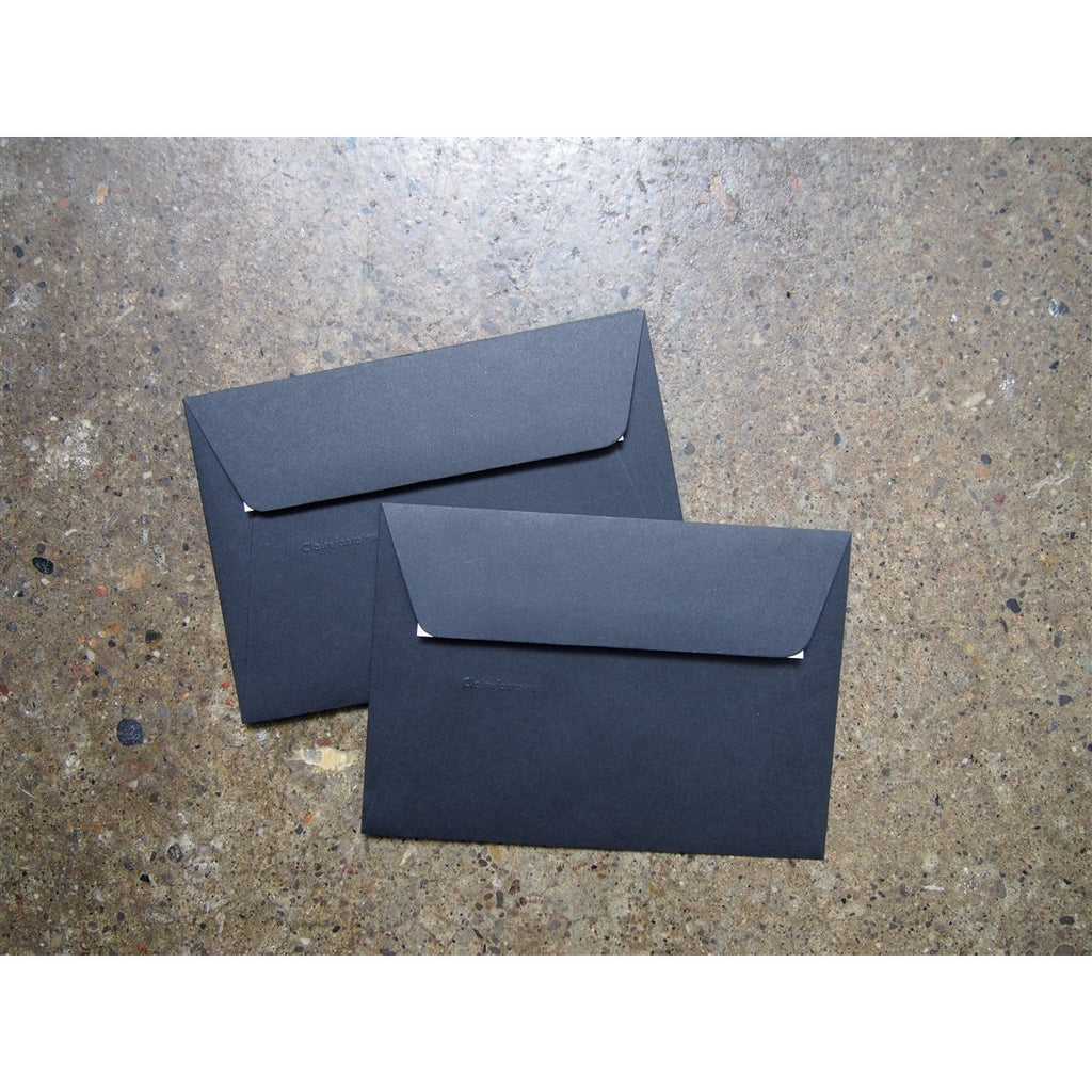 <center>Clairefontaine Pollen Envelopes - A5 - Black</center>