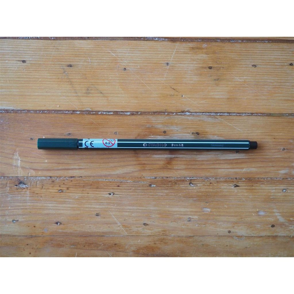 <center>Stabilo Pen 68 - Earth Green</center>