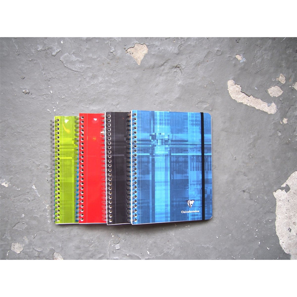 <center>Clairefontaine Spiral Bound Pocket Book A5 - Lined</center>