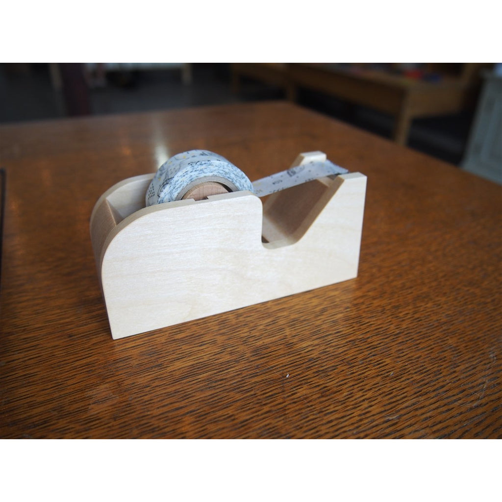 <center>Classiky Wood Tape Dispenser - Natural</center>