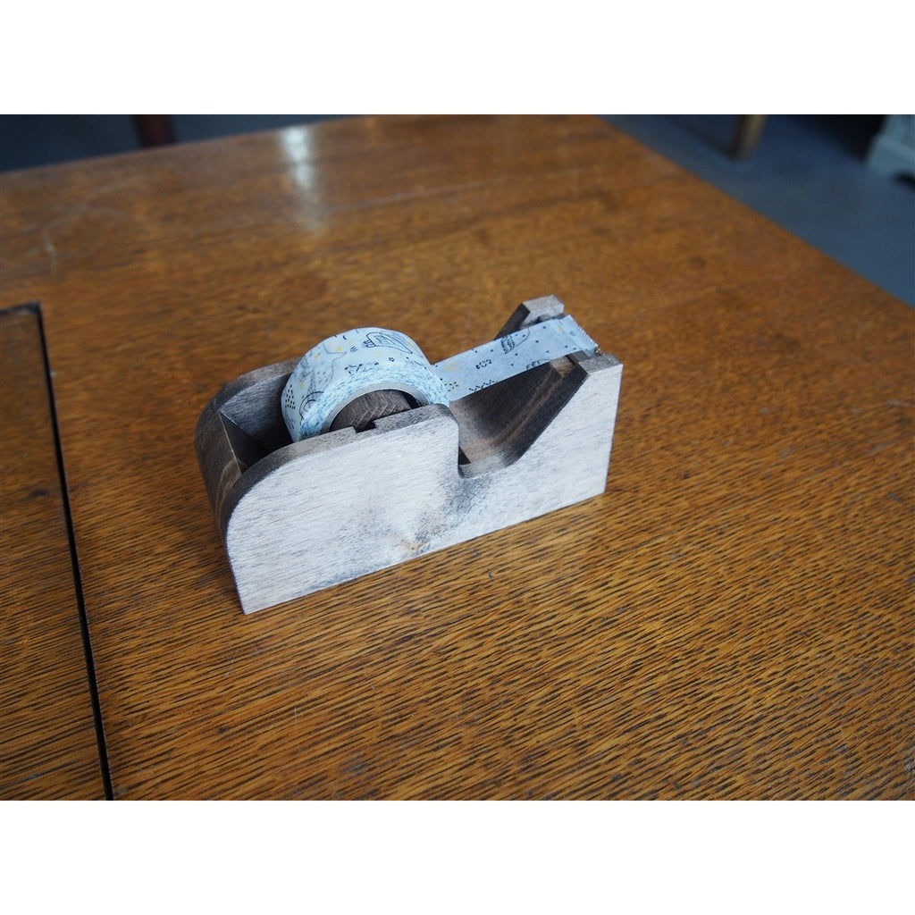 <center>Classiky Wood Tape Dispenser - Brown</center>
