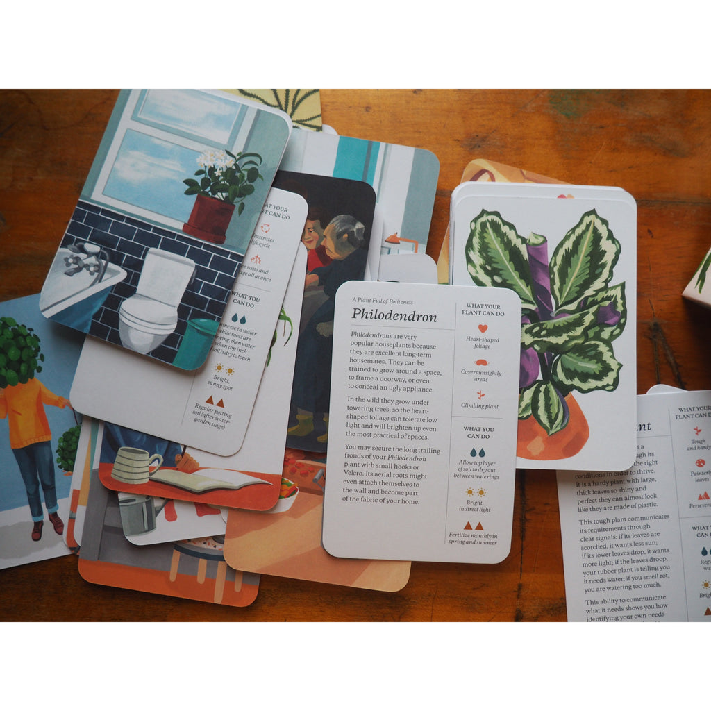 Plantfulness or How to Change Your Life with Plants - Cards