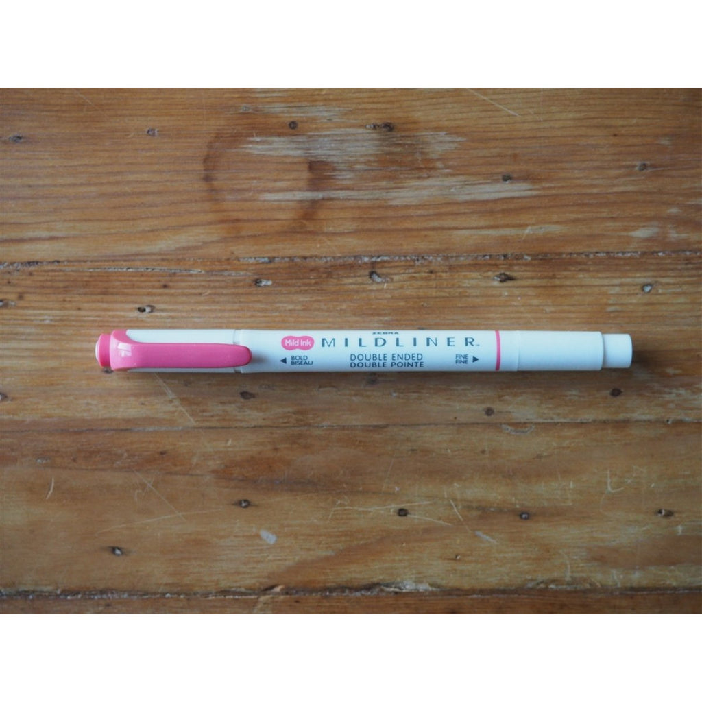 <center>Zebra - Mildliner Highlighter - Fuchsia</center>
