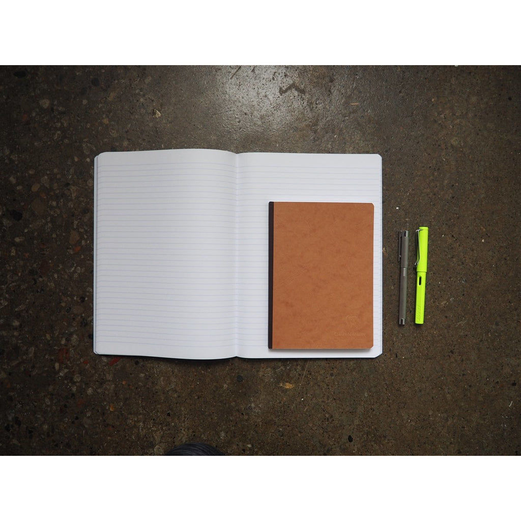 <center>Clairefontaine Age-Bag Tan Notebook A4 - Lined</center>