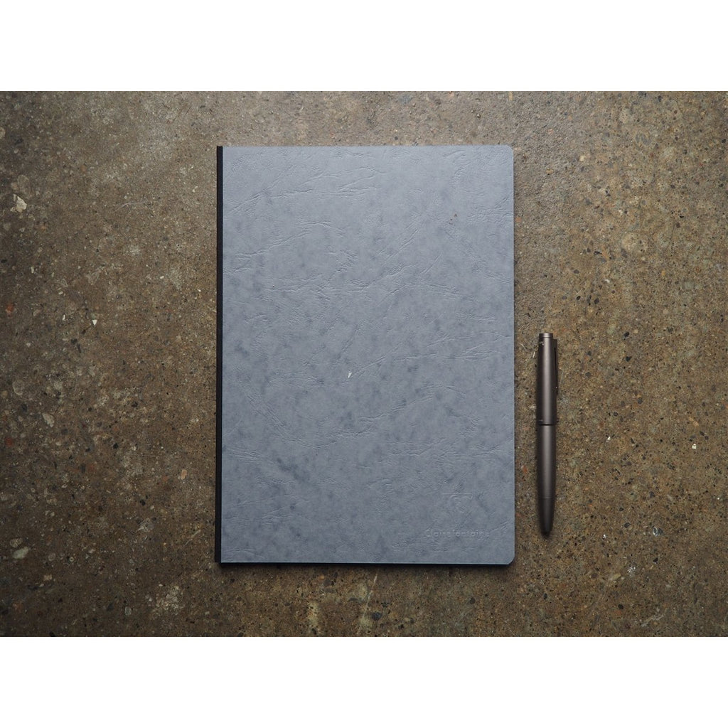 <center>Clairefontaine Age-Bag Grey Notebook A4 - Lined</center>