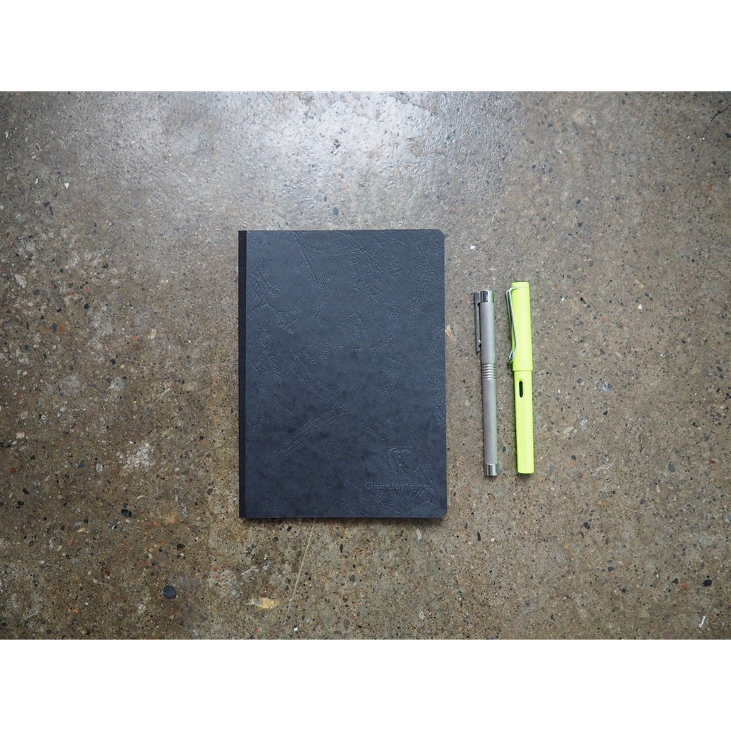 <center>Clairefontaine Age-Bag Black Notebook A5 - Graph</center>