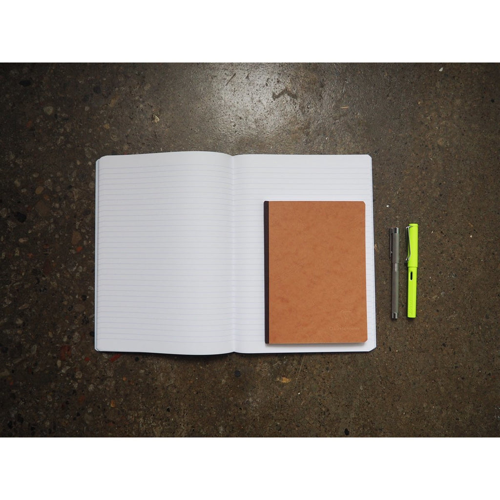 <center>Clairefontaine Age-Bag Tan Notebook A5 - Lined</center>