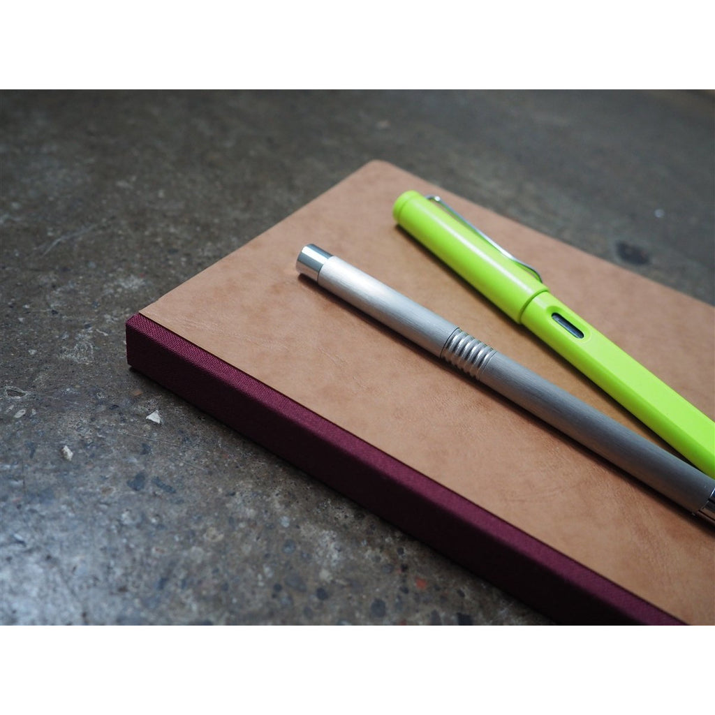 <center>Clairefontaine Age-Bag Tan Journal A5 - Lined</center>
