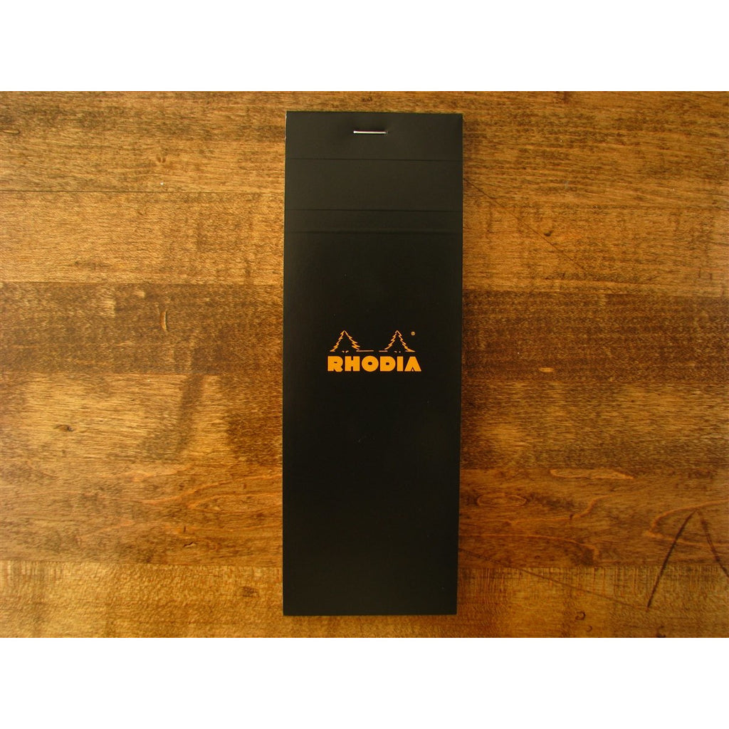 <center>Rhodia Shopping Pad (7.4 cm x 21 cm) - Black - Graph</center>