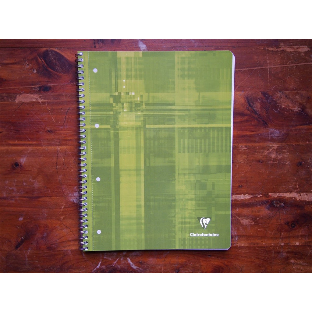 <center>Clairefontaine Spiral-Bound Notebook A4 - Seyes French-Ruled</center>