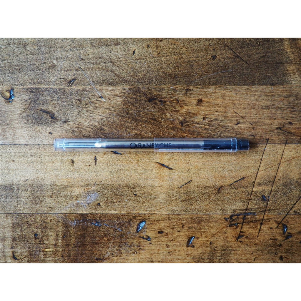 <center>Caran d'Ache Goliath Medium Ballpoint Refill - Black</center>