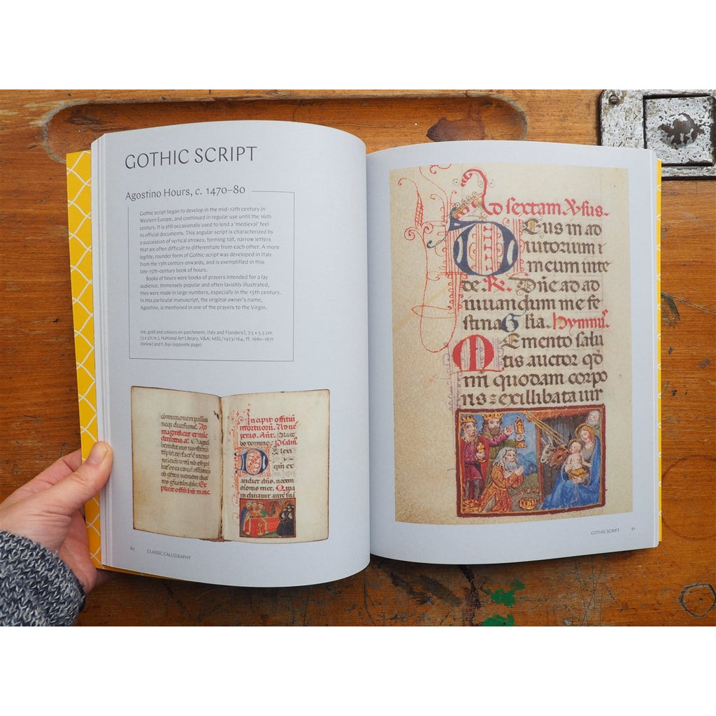 <center>Calligraphy & Lettering: A Maker's Guide by Victoria and Albert Museum</center>