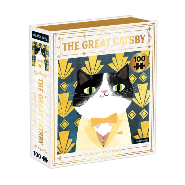 <center>The Great Catsby - 100 Piece Puzzle</center>