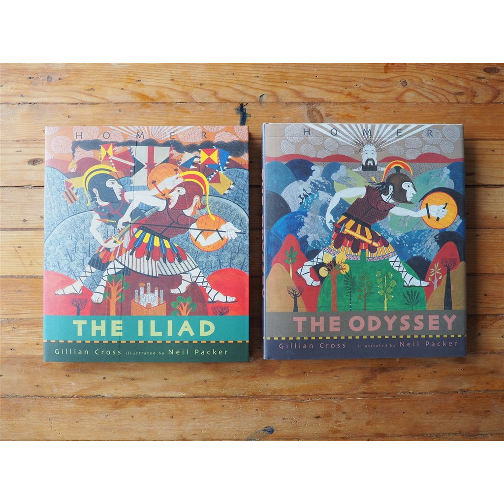 <center>The Iliad/The Odyssey Boxed Set by Gillian Cross</center>