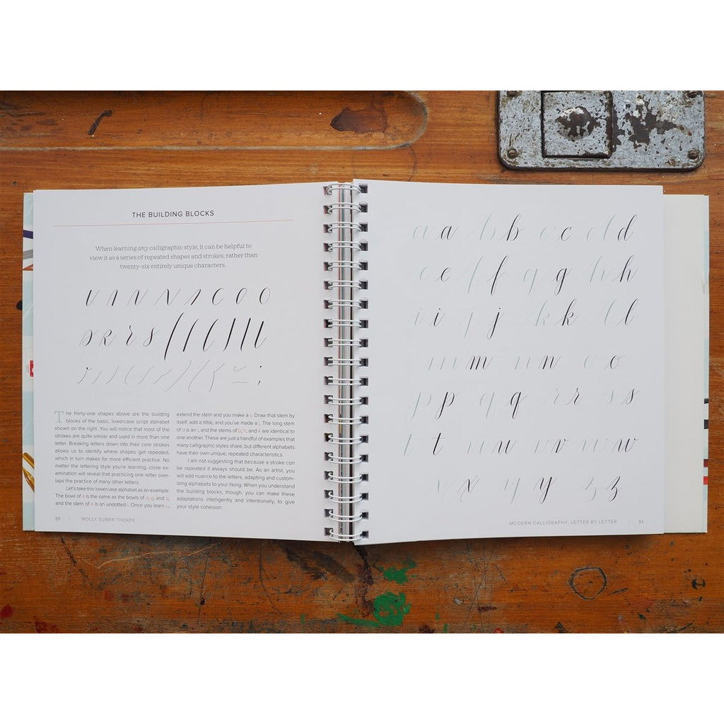 <center>Mastering Modern Calligraphy by Molly Suber Thorpe</center>