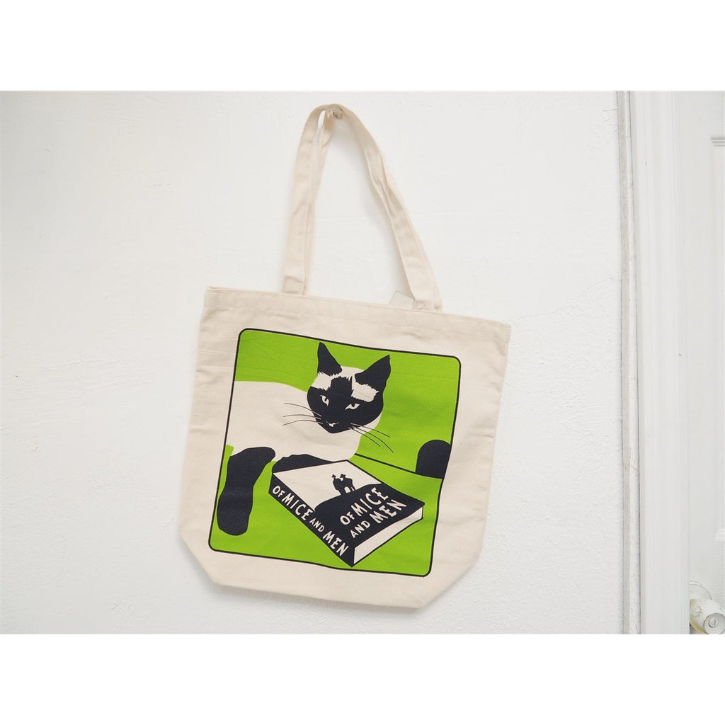 <center>Of Mice And Men Cat - Tote Bag</center>