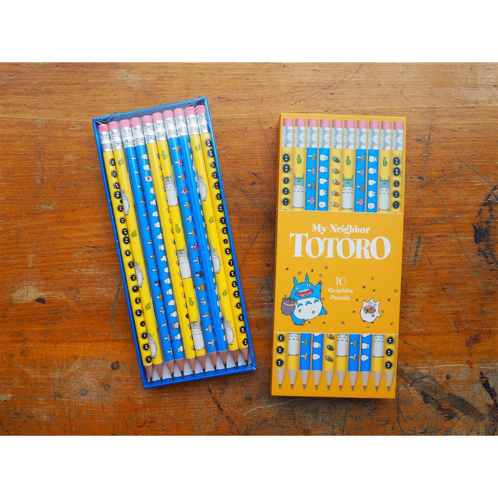 <center>My Neighbor Totoro Pencils - Set of 10</center>