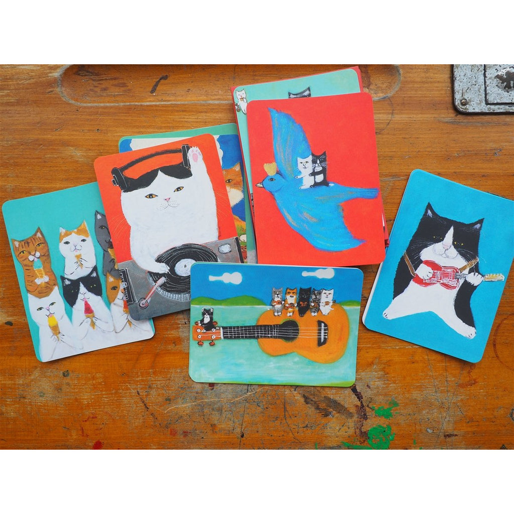 <center>The Secret Life of Cats - Correspondence Cards & Envelopes</center>