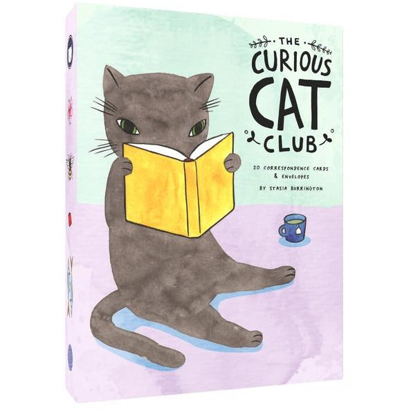 <center>Curious Cat Club Correspondence Cards</center>