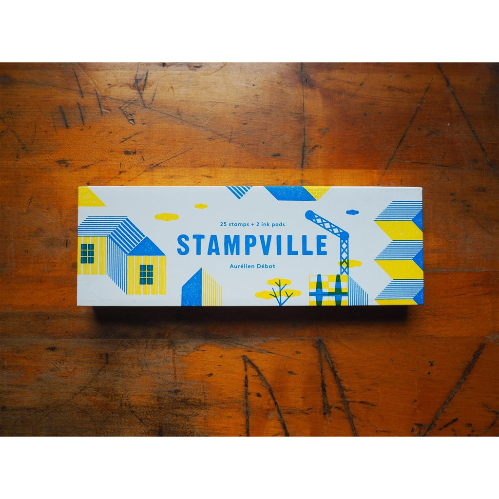 <center>Stampville Rubber Stamp Set</center>